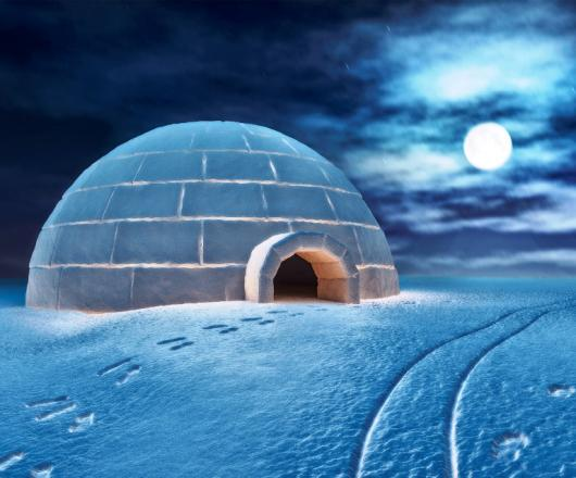 CONSTRUCTION D'IGLOOS