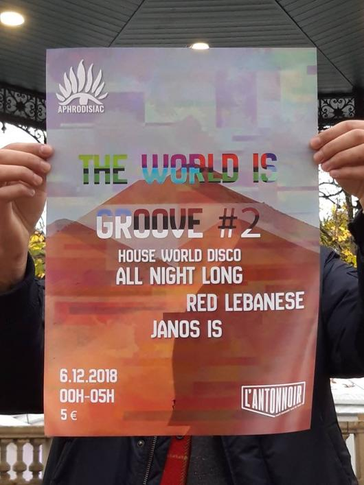 The World Is Groove #2 : Aphrodisiac All Night Long