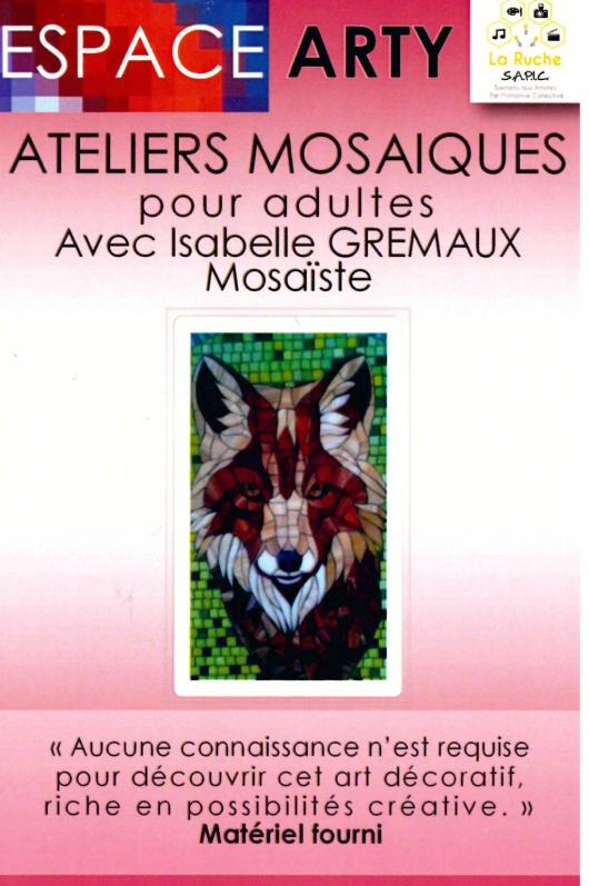 ATELIERS MOSAÏQUES ADULTES