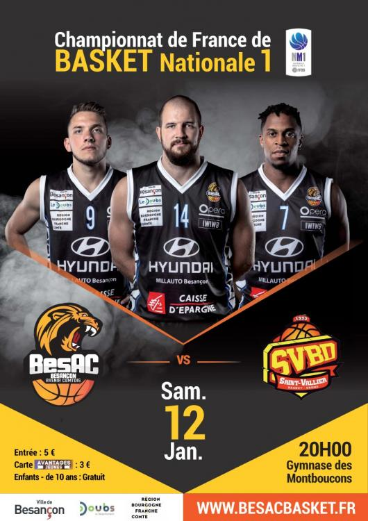 Basket : BesAc / SAINT-VALLIER