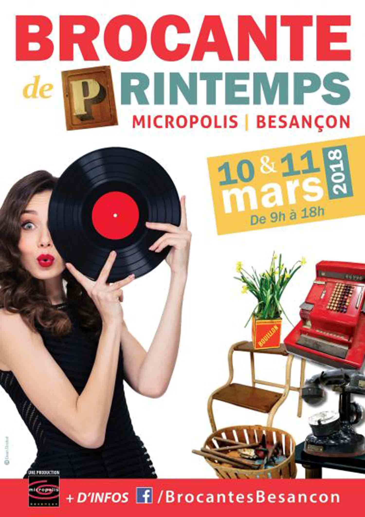 brocante de printemps besan on micropolis bourses vide greniers doubs. Black Bedroom Furniture Sets. Home Design Ideas