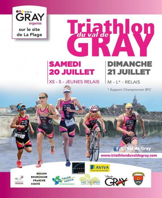Triathlon du Val de Gray 2019