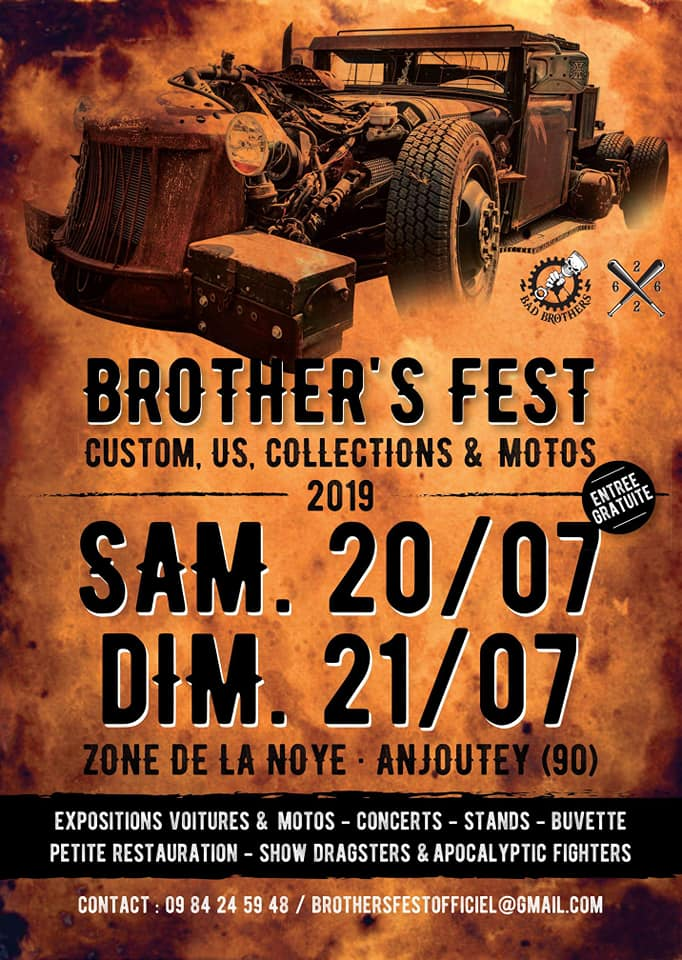 BROTHERS' FEST - CUSTOMS, US, COLLECTIONS & MOTOS