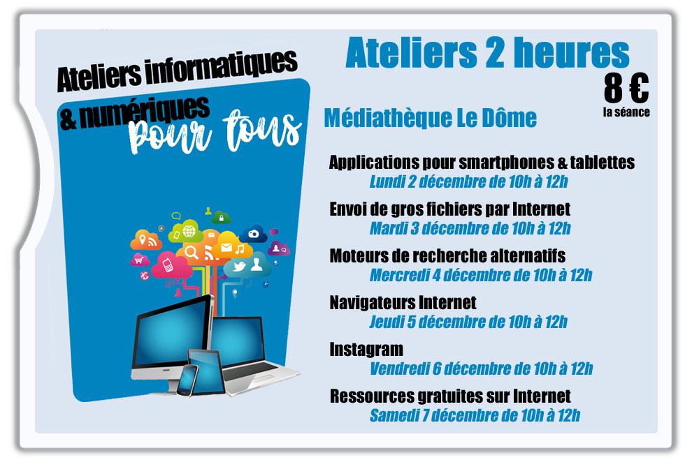 ATELIER INFORMATIQUE : APPLICATIONS POUR SMARTPHONES ET TABLETTES