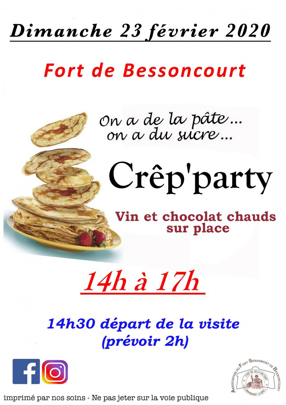 CRÊP'PARTY ET VISITE GUIDÉE